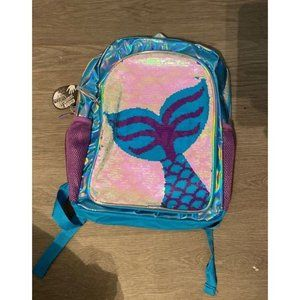 Girls Mermaid backpack sequins